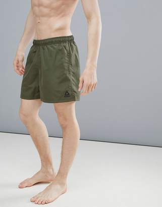 Reebok Swim Swim Shorts In Khaki CE0616