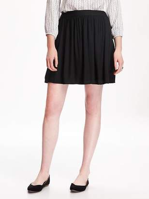 Old Navy Fit & Flare Drapey Skirt for Women