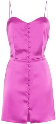 Nanushka Mabel satin mini dress