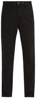 Rag & Bone Mid Rise Chino Trousers - Mens - Black