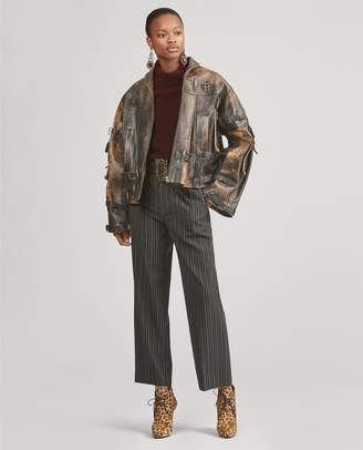 Ralph Lauren Jaxton Leather Coat