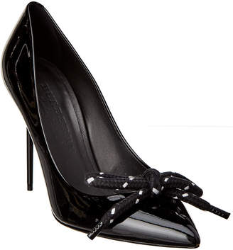 Burberry Patent Rope Stiletto Pump