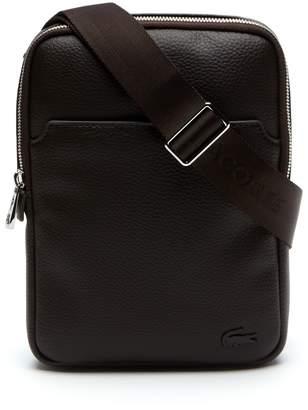 Lacoste Men's Gael Small Flat Zip Bag
