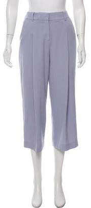 Rebecca Taylor Cropped High-Rise Pants