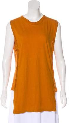 Damir Doma Distressed Sleeveless Top