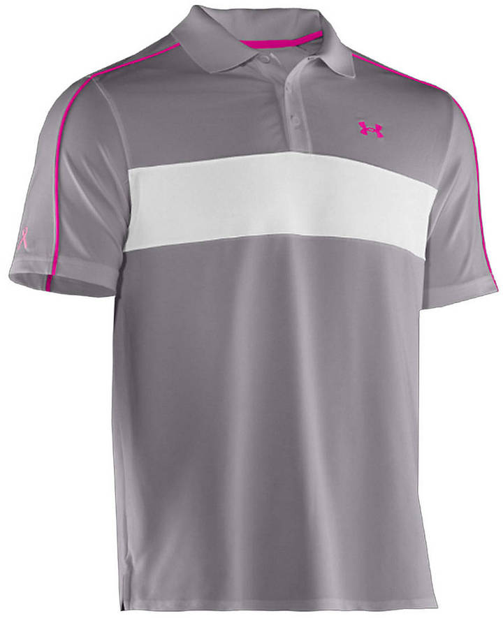 Under Armour Colorblock Short-Sleeved Polo