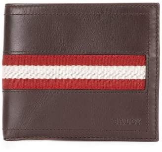 Bally Tolodi stripe panel wallet