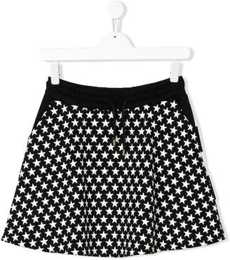 MSGM TEEN star print skirt