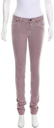 Victoria Beckham Low-Rise Skinny Pants