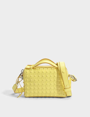Tod's Don Bauletto Micro Gommino Bag in Limelight Calfskin