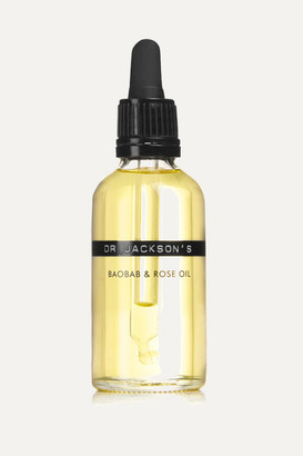 Dr. Jackson's Baobab And Rose Oil, 50ml - Colorless