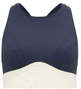 Celine Ernest Leoty Performance Bra - Womens - Navy White