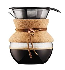 Bodum Pour Over Coffee Maker With Permanent Filter 4 Cup