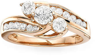 MODERN BRIDE Love Lives Forever 1 CT. T.W. Diamond 10K Rose Gold Ring
