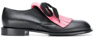 Marni fringed oxford shoes