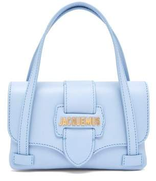 Jacquemus Le Sac Minho Leather Bag - Womens - Light Blue