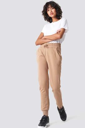 NA-KD Basic Sweatpants Black