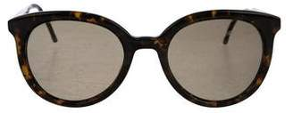 Thom Browne Round Tinted Sunglasses