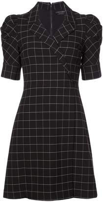 Alice + Olivia Alice+Olivia check print dress