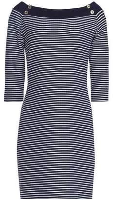 Heidi Klein Striped Stretch-Jersey Mini Dress