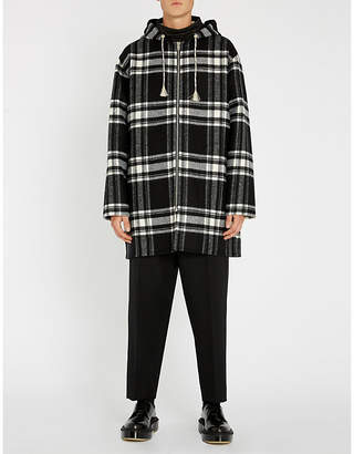 Marni Checked wool-blend coat