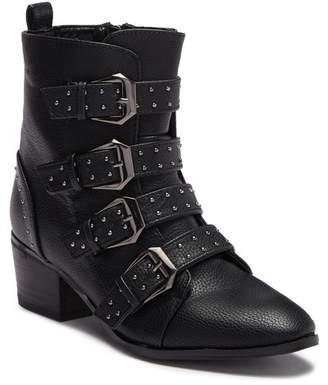 Catherine Malandrino Patsy Multi-Strap Buckle Boot