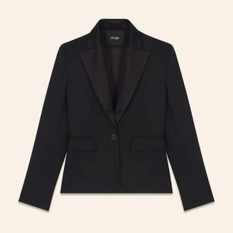 Maje Wool blend tailored jacket