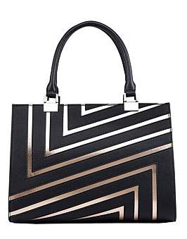 Serenade Zena Leather Structured Handbag