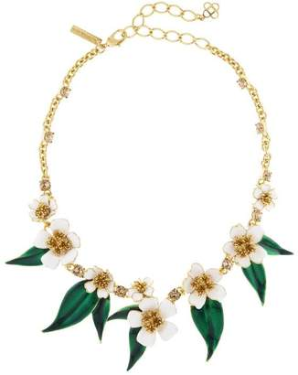 Oscar de la Renta Delicate Flowers Necklace