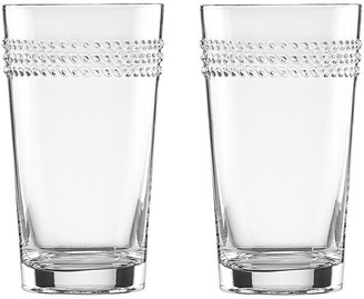 Kate Spade Set of 2 Wickford Highball Glasses - Clear