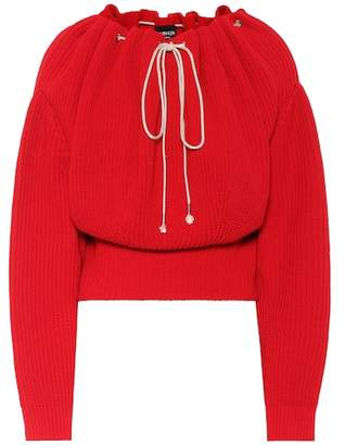 Calvin Klein Ribbed cotton sweater
