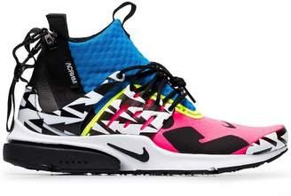 best website 63e3e c1e52 Nike multicoloured Acronym x Presto leather sneakers