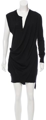 Alexander WangAlexander Wang Wool Knit Mini Dress