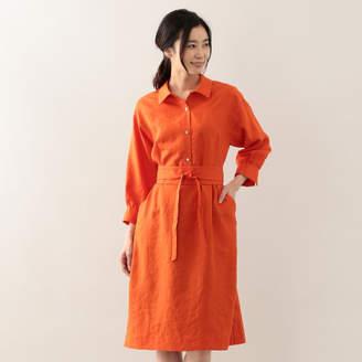 Amaca (アマカ) - AMACA トリアセタンブラーシャツドレス