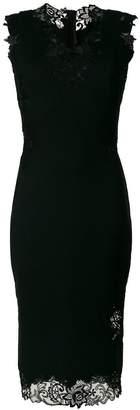 Ermanno Scervino sleeveless lace trim dress