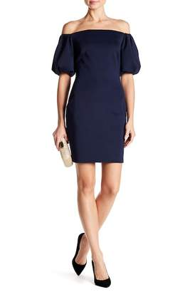Issue New York Off-the-Shoulder Puff Sleeve Dress