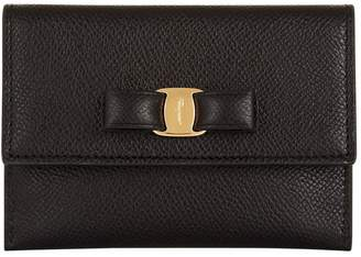 Salvatore Ferragamo Vara Bow Card Holder