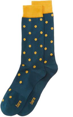 Bar III Men's Polka-Dot Socks
