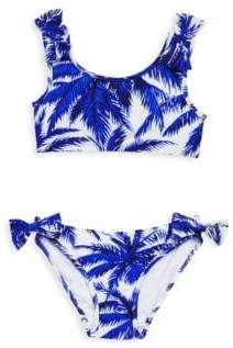 Milly Minis Girl's Two-Piece Bow Swimsuit