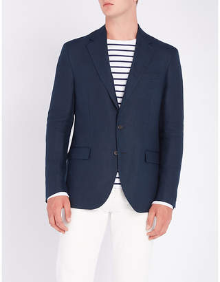 Polo Ralph Lauren Morgan single-breasted linen blazer