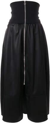Paco Rabanne zip front skirt