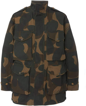 Burberry Exbury Camouflage Cotton-Canvas Jacket