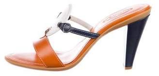 Tod's Leather Slide Sandals