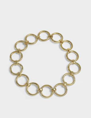 Saskia Diez Bold Necklace in 18K Gold-Plated Brass