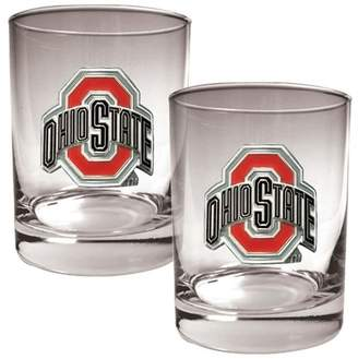 NCAA Kohl's Ohio State Buckeyes 2-pc. Rocks Glass Set