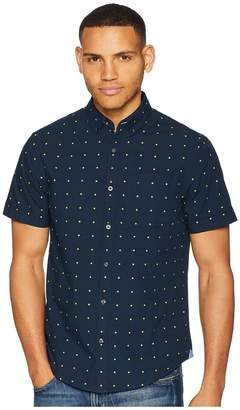 Original Penguin Short Sleeve Daisy Dobby Shirt Men's Short Sleeve Button Up