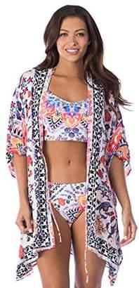 LaBlanca La Blanca Women's Cover-up Kimono Dress
