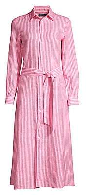 Polo Ralph Lauren Women's Striped Linen Shirtdress