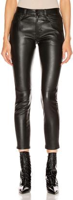 Saint Laurent Skinny Pant in Black   FWRD