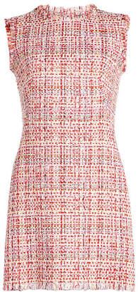 Alexander McQueen Tweed Mini Dress